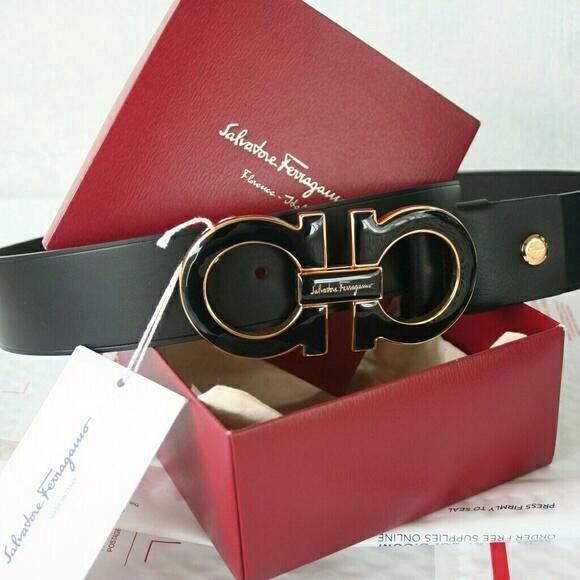 Versace 100/% Leather Blue Men/'s Belt Sz 32 34 36 38 40